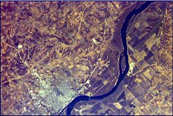 EarthKam Image of the Mississippi River