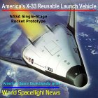 America's X-33 Reusable Launch Vehicle