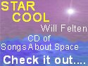 Star Cool - space music CD by Will Felten