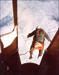 Kittinger Jumping from 31km