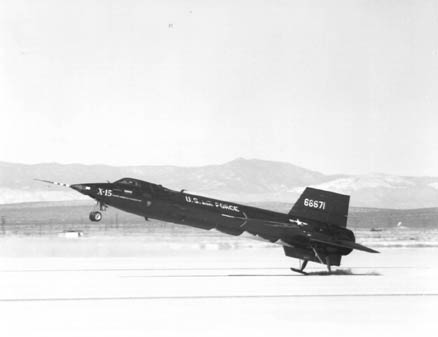 X-15 Landing at Edwards AFB
