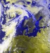 NOAA Sat Image of Scandinavia
