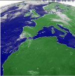 Geo-sat weather image