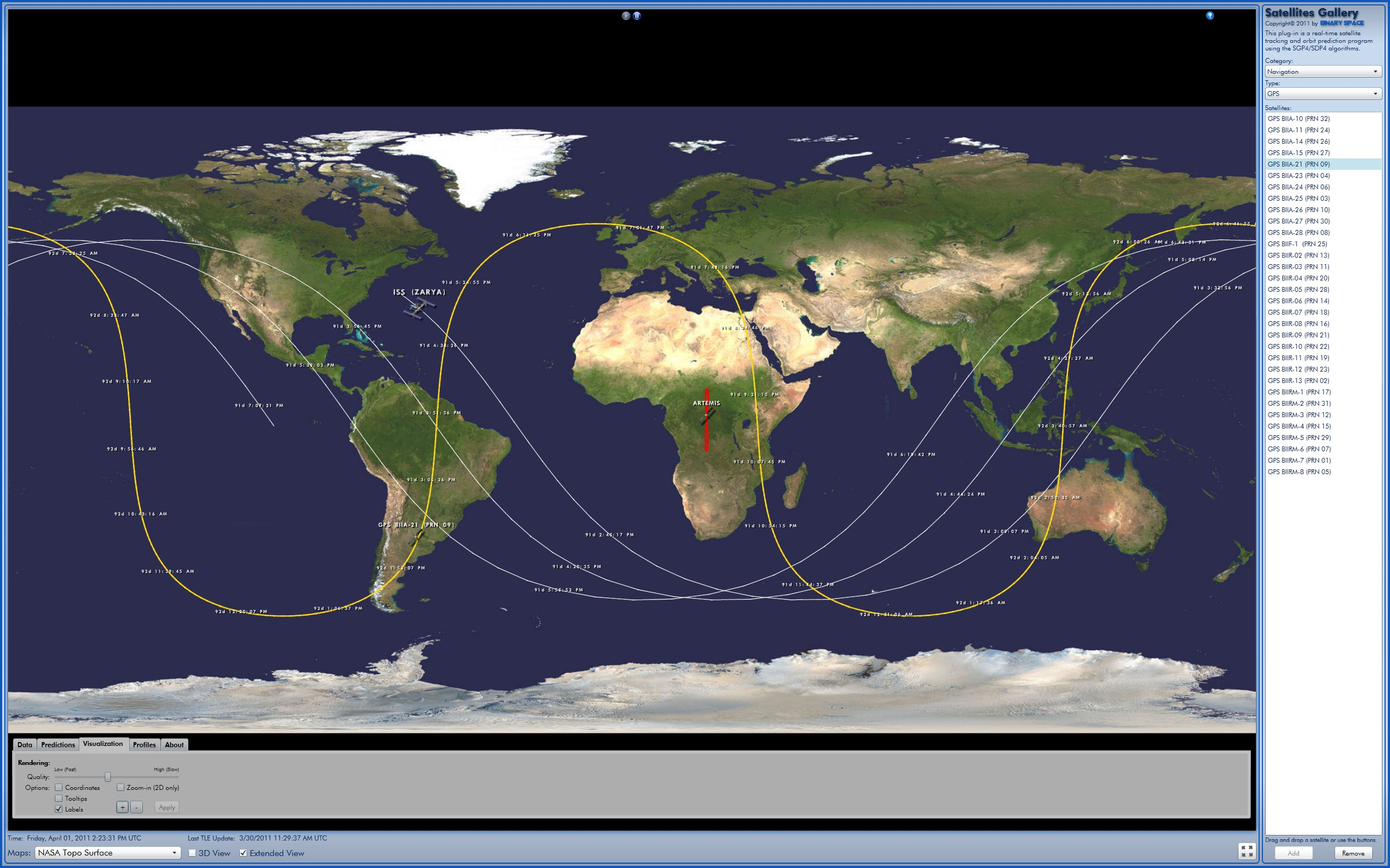 nasa 3d satellite tracker - photo #35
